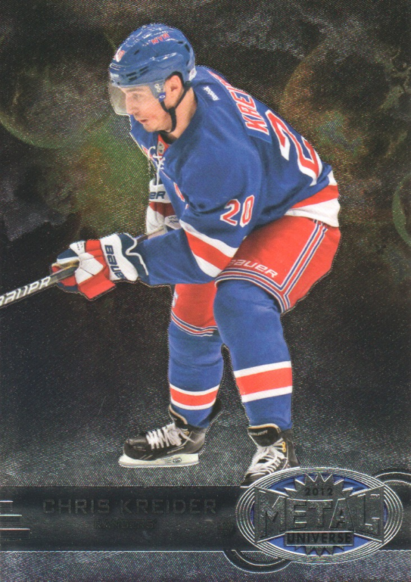 2012-13 Fleer Retro Metal Universe #11 Chris Kreider
