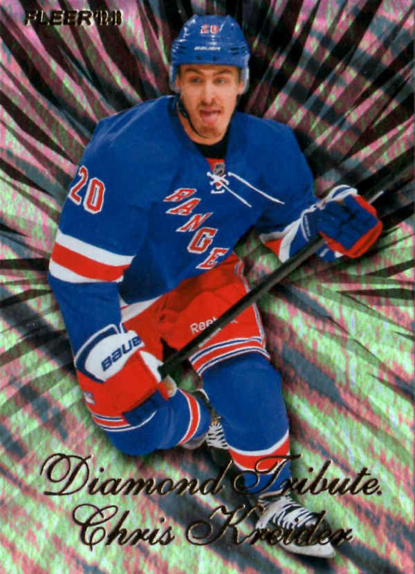 2012-13 Fleer Retro Diamond Tribute #12 Chris Kreider