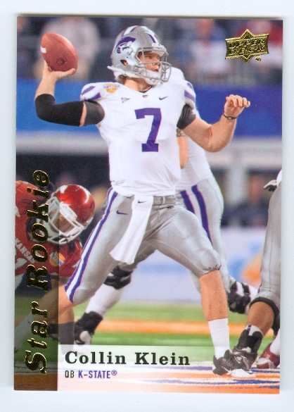 2013 Upper Deck #165 Collin Klein SP