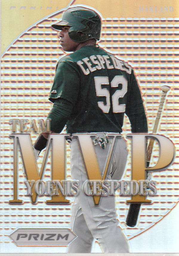 2012 Panini Prizm Team MVP Prizms #MVP20 Yoenis Cespedes