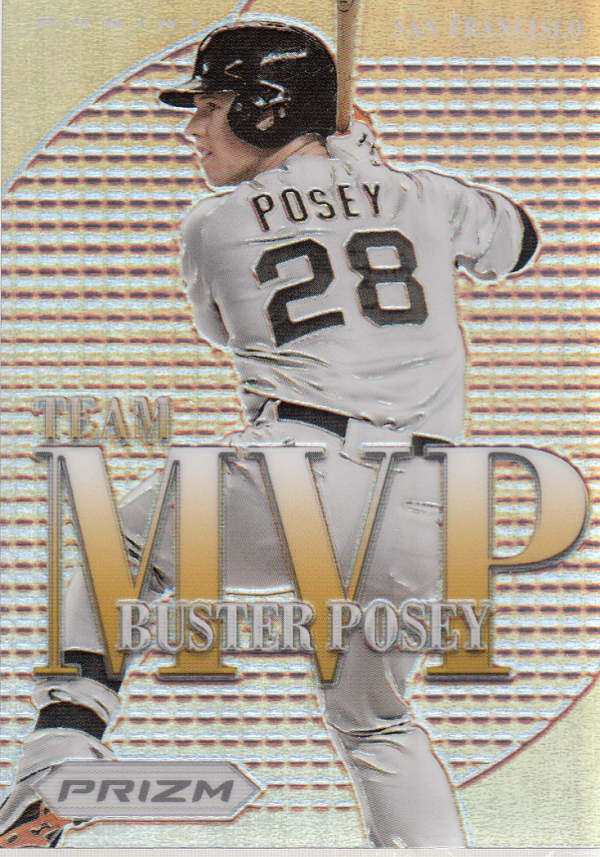 2012 Panini Prizm Team MVP Prizms #MVP25 Buster Posey