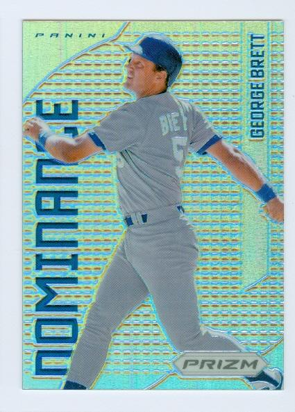 2012 Panini Prizm Dominance Prizms #D7 George Brett