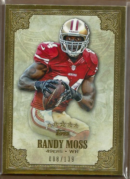 2012 Topps Five Star #2 Randy Moss