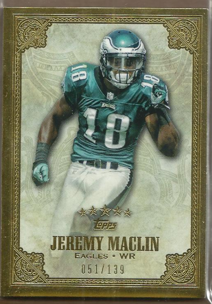 2012 Topps Five Star #4 Jeremy Maclin