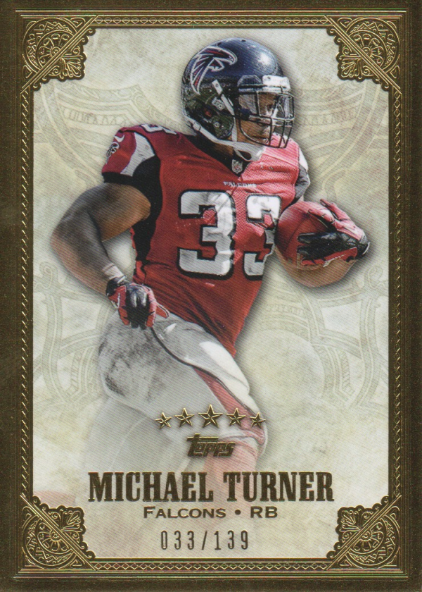 2012 Topps Five Star #35 Michael Turner