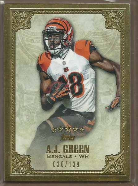 2012 Topps Five Star #49 A.J. Green