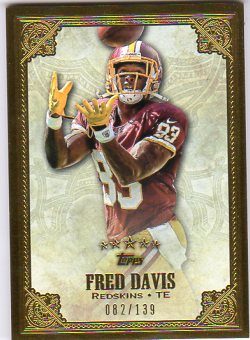 2012 Topps Five Star #58 Fred Davis