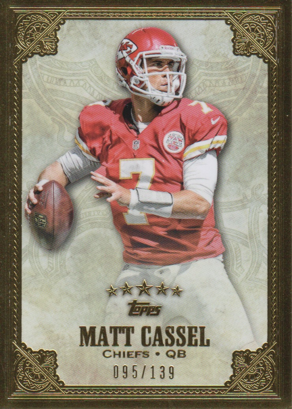 2012 Topps Five Star #61 Matt Cassel