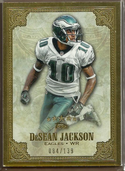 2012 Topps Five Star #77 DeSean Jackson