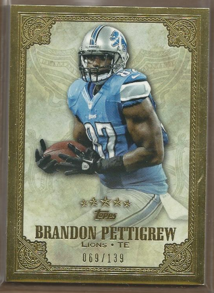 2012 Topps Five Star #78 Brandon Pettigrew