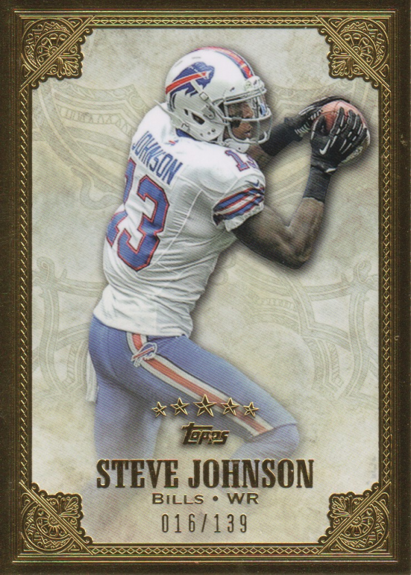 2012 Topps Five Star #87 Steve Johnson