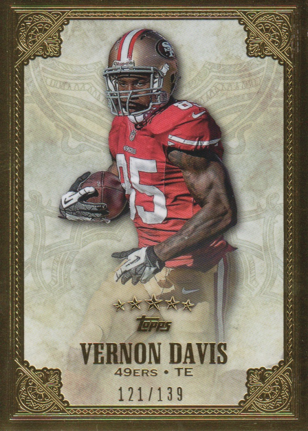 2012 Topps Five Star #108 Vernon Davis