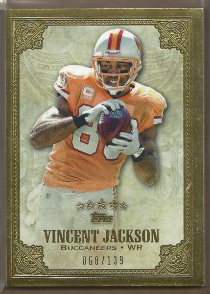 2012 Topps Five Star #118 Vincent Jackson