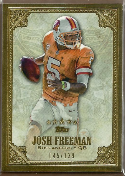 2012 Topps Five Star #128 Josh Freeman