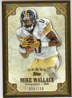 2012 Topps Five Star #139 Mike Wallace