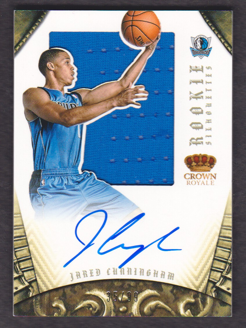 2012-13 Panini Preferred #313 Jared Cunningham SL JSY AU/99