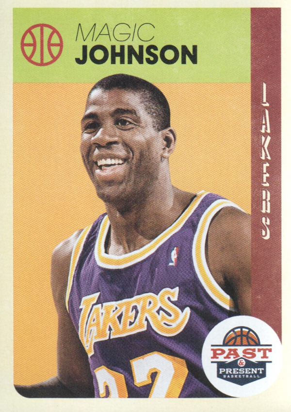 2012-13 Panini Past and Present #26 Magic Johnson