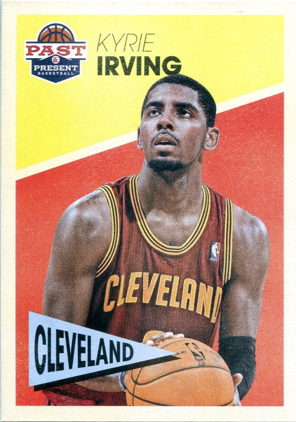 2012-13 Panini Past and Present Variations #22 Kyrie Irving