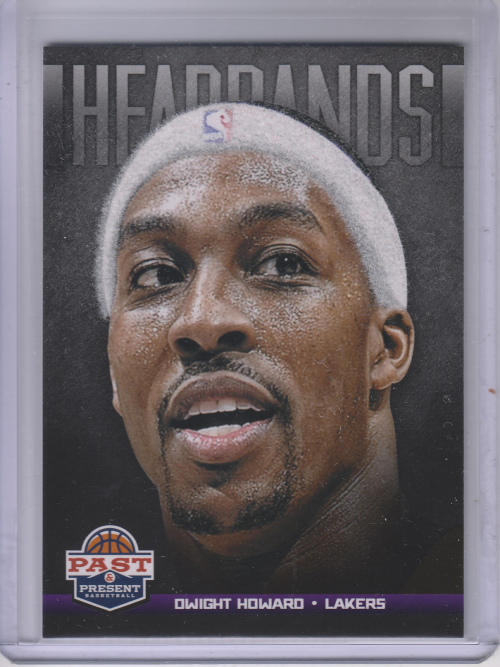 2012-13 Panini Past and Present Headbands #7 Dwight Howard