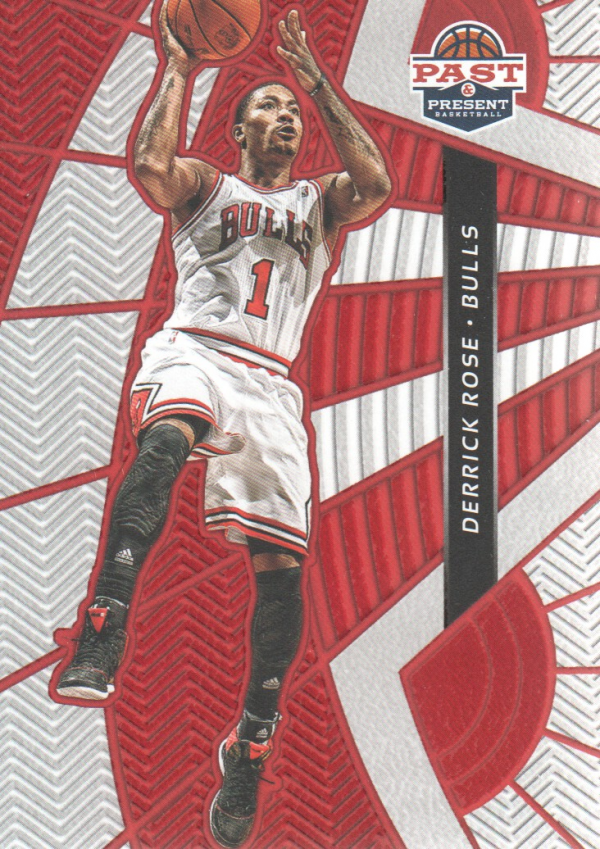 2012-13 Panini Past and Present Treads #29 Derrick Rose