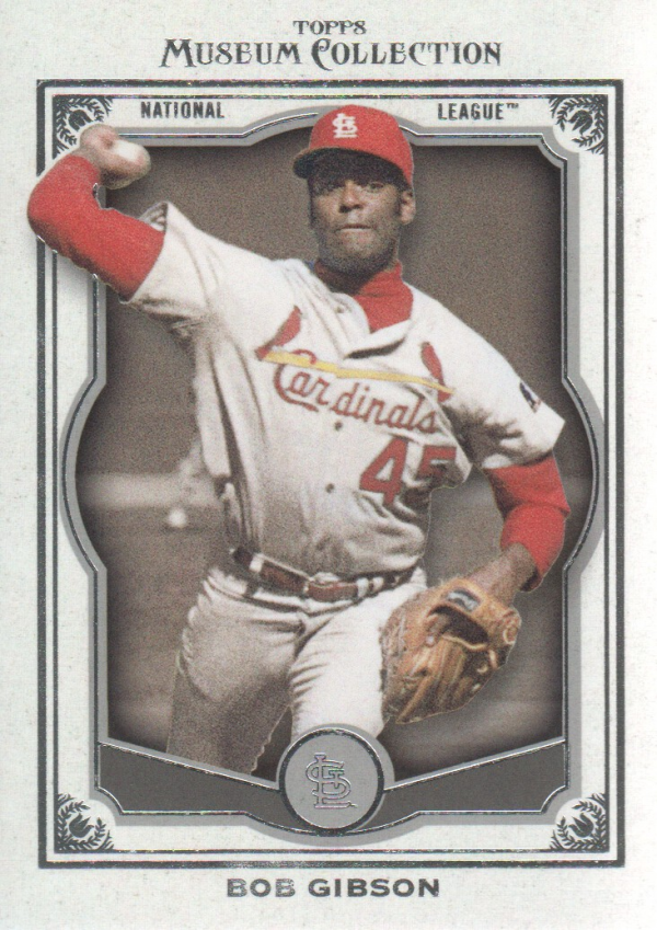 2013 Topps Museum Collection #5 Bob Gibson