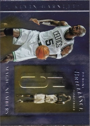 2012-13 Panini Brilliance Magic Numbers #7 Kevin Garnett