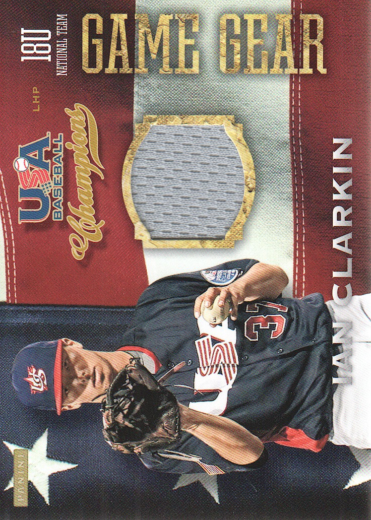 2013 USA Baseball Champions Game Gear Jerseys #47 Ian Clarkin
