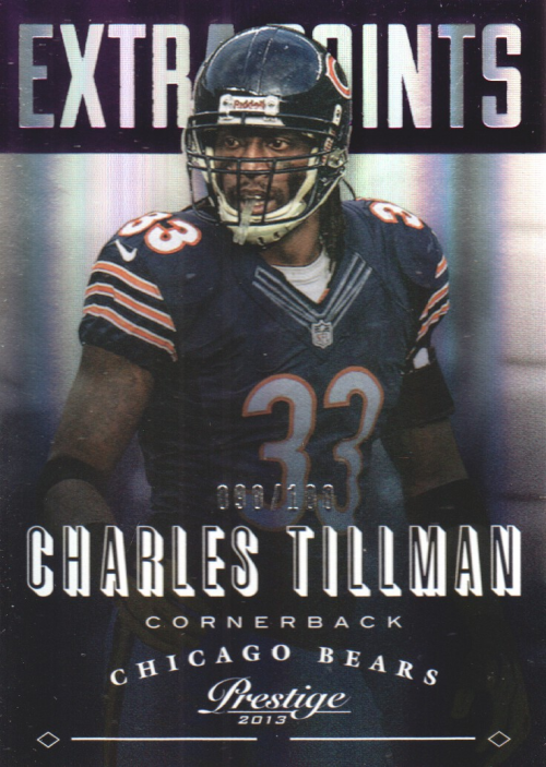 2013 Prestige Extra Points Purple #37 Charles Tillman