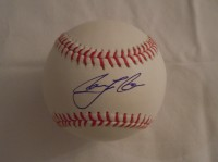 Carlos Correa Autograph Baseball Signed w/COA Houston Astros Rawlings Offiicial MLB