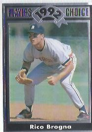 1992 Cartwrights Players Choice #3 Rico Brogna