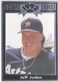1992 Cartwrights Players Choice #4 Jeff Juden