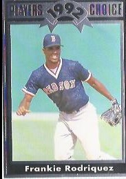 1992 Cartwrights Players Choice #5 Frankie Rodriguez