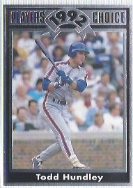 1992 Cartwrights Players Choice #10 Todd Hundley