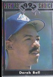 1992 Cartwrights Players Choice #13 Derek Bell