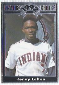 1992 Cartwrights Players Choice #14 Kenny Lofton