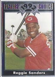 1992 Cartwrights Players Choice #15 Reggie Sanders