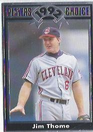 1992 Cartwrights Players Choice #18 Jim Thome