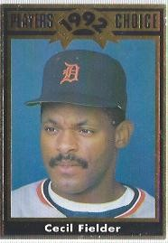1992 Cartwrights Players Choice Gold #22 Cecil Fielder