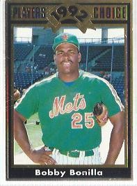 1992 Cartwrights Players Choice Gold #25 Bobby Bonilla