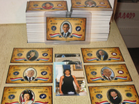 2009 Executive Trading Cards Politicians Set (290 cards) - Includes Obama and other SPs