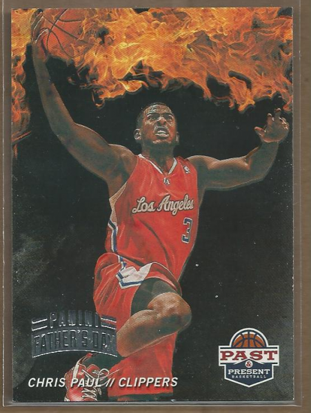 2012 Panini Past and Present Fireworks Father's Day #19 Chris Paul  5/5