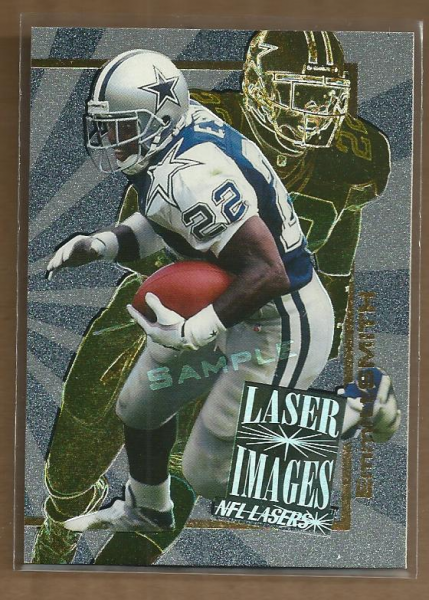 1996 Score Board Lasers Images Sample #I6 Emmitt Smith