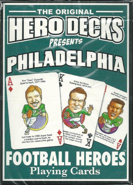 Philadelphia Eagles Hero Decks Playing Cards Poker Sized 52 Card Deck