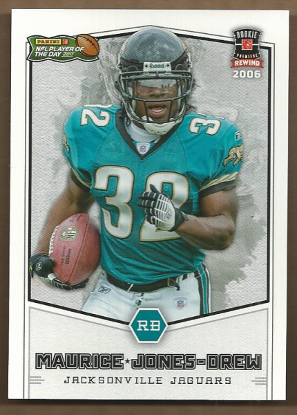 2011 Panini Player of the Day 2004 Rookie Rewind #RR4 Maurice Jones-Drew