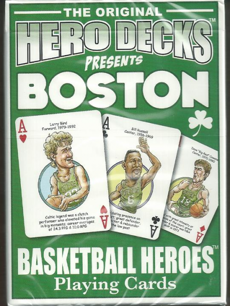 Boston Celtics NBA Hero Decks Playing Cards Poker Sized 52 Card Deck