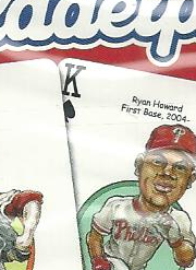 Philadelphia Phillies MLB Baseball Hero Decks Playing Cards Poker Sized 52 Card Deck
