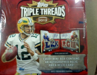 2012 Topps Triple Threads Football Hobby Box