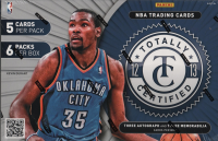 2012-13 ( 2013 ) Panini TOTALLY CERTIFIED Basketball Hobby Box front image