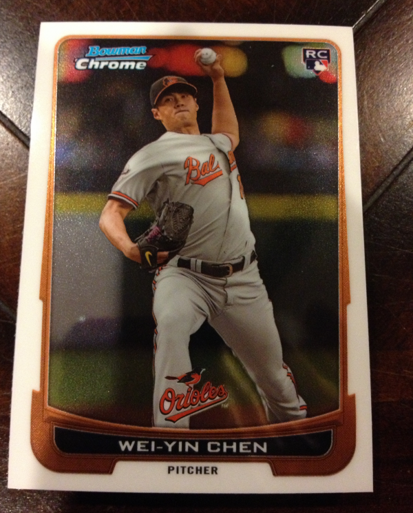 2012 Bowman Chrome Draft Baltimore Orioles Team Set 12 Cards