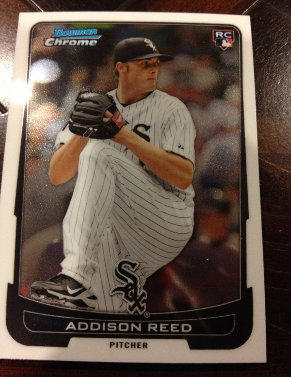 2012 Bowman Chrome Draft Chicago White Sox Team Set 7 Cards